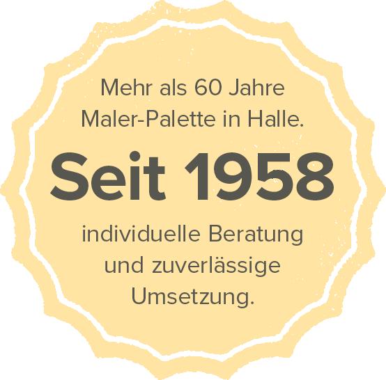 Maler-Palette seit 1958